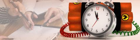 Funcionário sem registro, cuidado com esta bomba relógio.