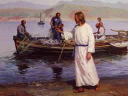 Jesus e os Pescadores