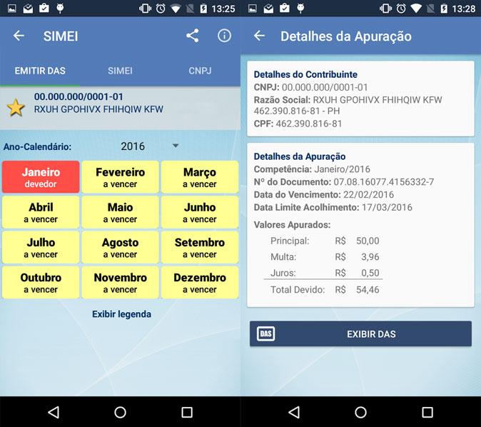 App da Receita Federal para Microempreendedor Individual (MEI)